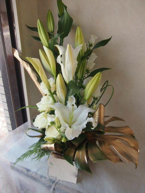 花ギフト|フラワーギフト|誕生日 花|カノシェ話題|スタンド花|ウエディングブーケ|花束|花屋|47603(1)