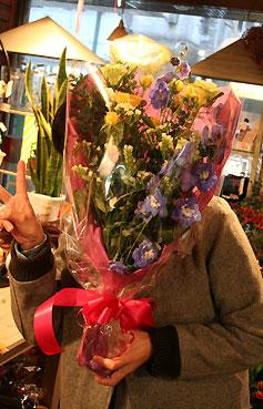 花ギフト|フラワーギフト|誕生日 花|カノシェ話題|スタンド花|ウエディングブーケ|花束|花屋|モプ花束