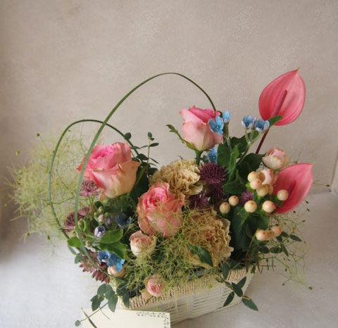 花ギフト|フラワーギフト|誕生日 花|カノシェ話題|スタンド花|ウエディングブーケ|花束|花屋|56341