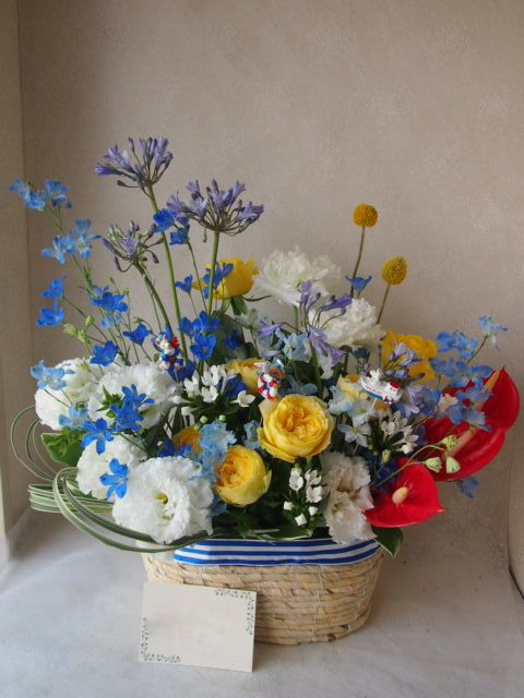 花ギフト|フラワーギフト|誕生日 花|カノシェ話題|スタンド花|ウエディングブーケ|花束|花屋|49528