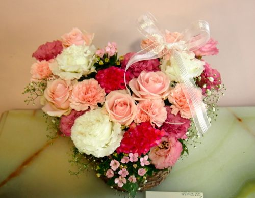 花ギフト|フラワーギフト|誕生日 花|カノシェ話題|スタンド花|ウエディングブーケ|花束|花屋|58305