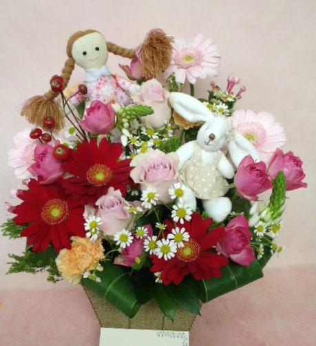 花ギフト|フラワーギフト|誕生日 花|カノシェ話題|スタンド花|ウエディングブーケ|花束|花屋|saya-usagi