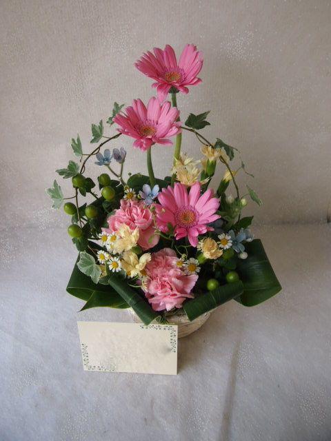 花ギフト|フラワーギフト|誕生日 花|カノシェ話題|スタンド花|ウエディングブーケ|花束|花屋|56491
