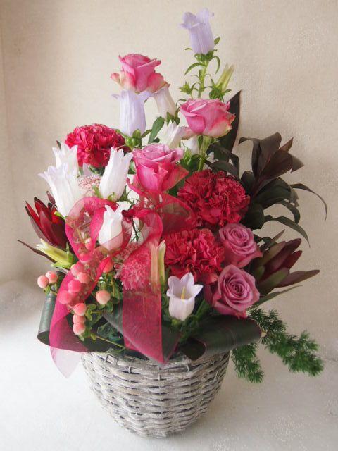 花ギフト|フラワーギフト|誕生日 花|カノシェ話題|スタンド花|ウエディングブーケ|花束|花屋|55335