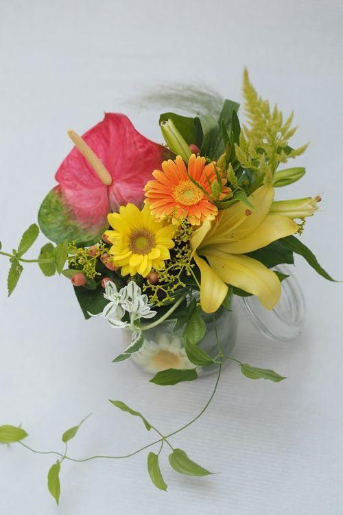 花ギフト|フラワーギフト|誕生日 花|カノシェ話題|スタンド花|ウエディングブーケ|花束|花屋|P8044089