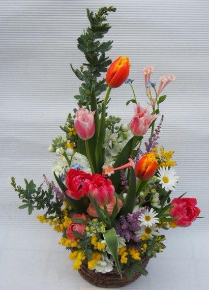 花ギフト|フラワーギフト|誕生日 花|カノシェ話題|スタンド花|ウエディングブーケ|花束|花屋|54244