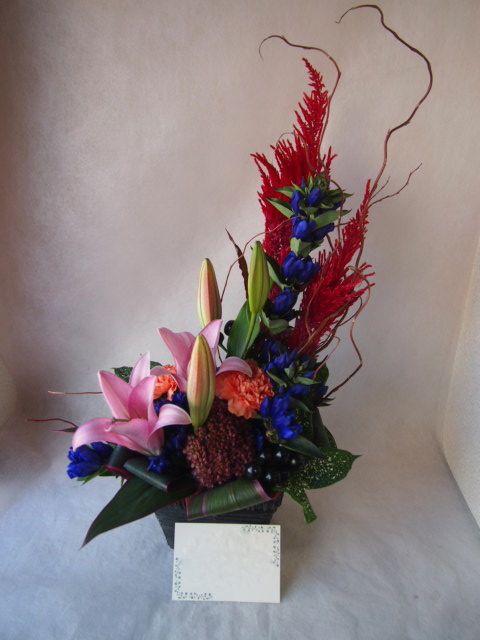 花ギフト|フラワーギフト|誕生日 花|カノシェ話題|スタンド花|ウエディングブーケ|花束|花屋|43005