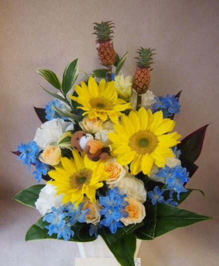 花ギフト|フラワーギフト|誕生日 花|カノシェ話題|スタンド花|ウエディングブーケ|花束|花屋|40999