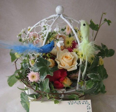 花ギフト|フラワーギフト|誕生日 花|カノシェ話題|スタンド花|ウエディングブーケ|花束|花屋|45960