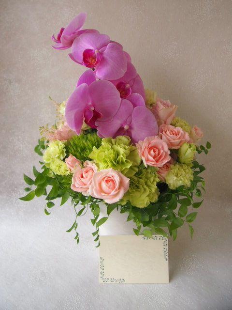 花ギフト|フラワーギフト|誕生日 花|カノシェ話題|スタンド花|ウエディングブーケ|花束|花屋|56242
