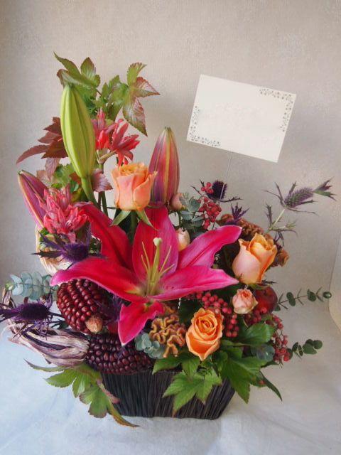 花ギフト|フラワーギフト|誕生日 花|カノシェ話題|スタンド花|ウエディングブーケ|花束|花屋|51073