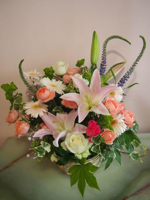 花ギフト|フラワーギフト|誕生日 花|カノシェ話題|スタンド花|ウエディングブーケ|花束|花屋|56991