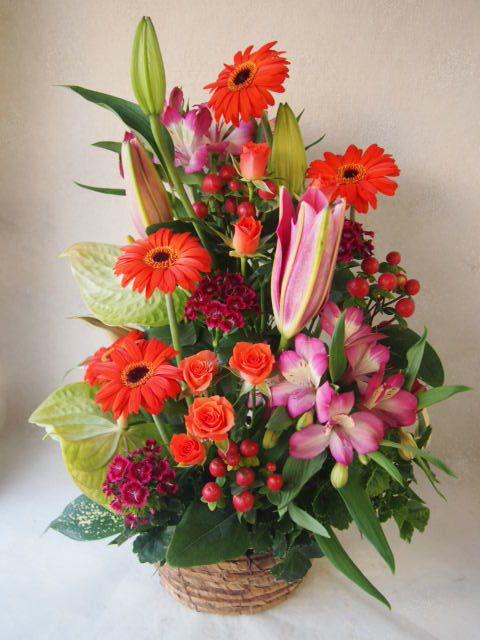 花ギフト|フラワーギフト|誕生日 花|カノシェ話題|スタンド花|ウエディングブーケ|花束|花屋|51159