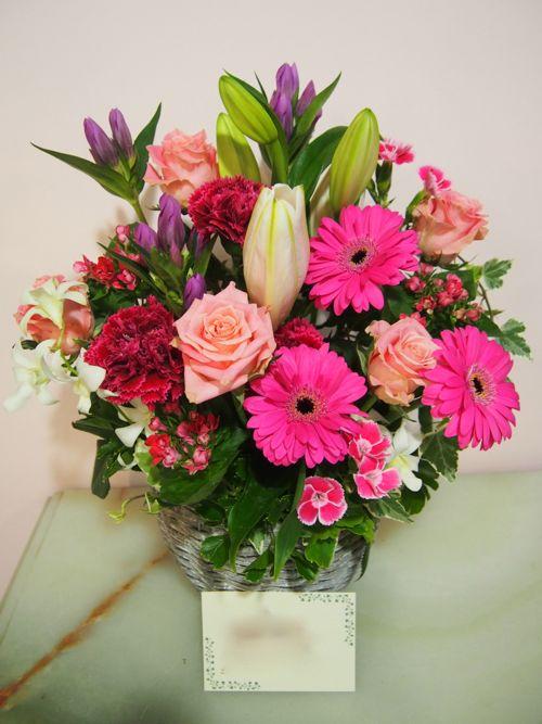 花ギフト|フラワーギフト|誕生日 花|カノシェ話題|スタンド花|ウエディングブーケ|花束|花屋|58336