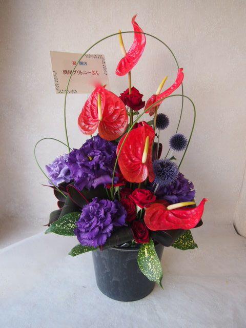 花ギフト|フラワーギフト|誕生日 花|カノシェ話題|スタンド花|ウエディングブーケ|花束|花屋|49596