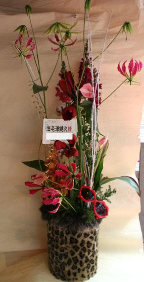 花ギフト フラワーギフト 誕生日 花 カノシェ話題 スタンド花 ウエディングブーケ 花束 花屋 fa