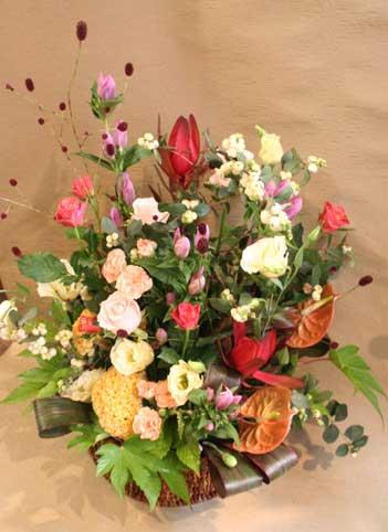 花ギフト|フラワーギフト|誕生日 花|カノシェ話題|スタンド花|ウエディングブーケ|花束|花屋|われもこう