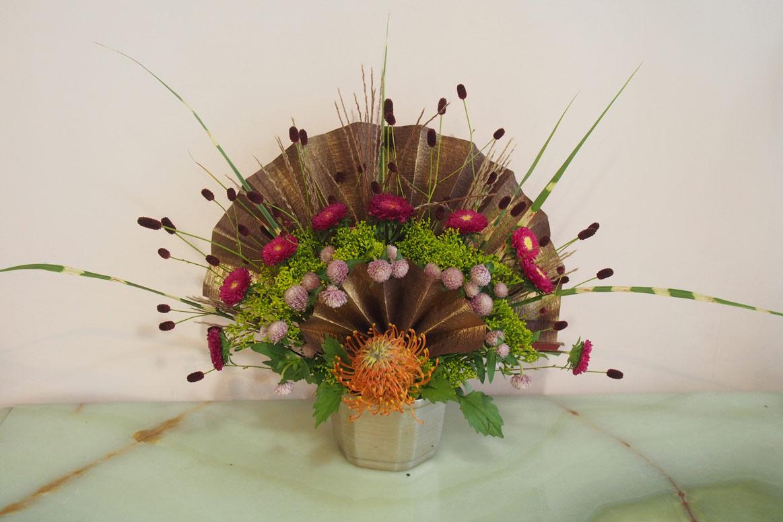 花ギフト フラワーギフト 誕生日 花 カノシェ話題 スタンド花 ウエディングブーケ 花束 花屋 P9130988