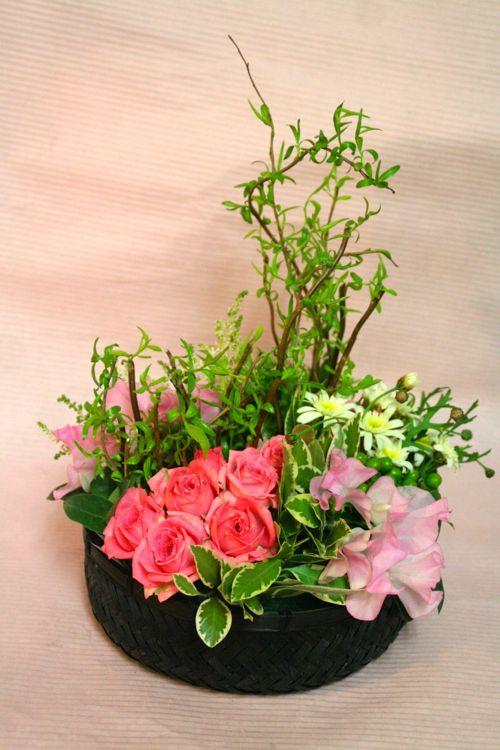 花ギフト|フラワーギフト|誕生日 花|カノシェ話題|スタンド花|ウエディングブーケ|花束|花屋|IMG_1366