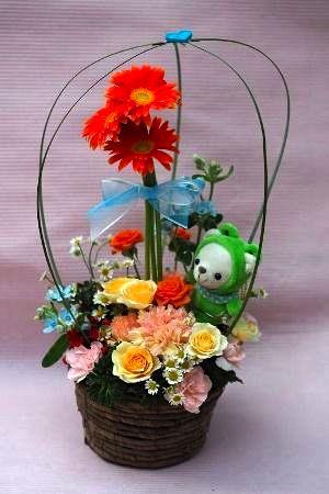 花ギフト|フラワーギフト|誕生日 花|カノシェ話題|スタンド花|ウエディングブーケ|花束|花屋|7cc628b2