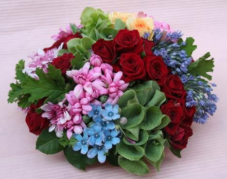 花ギフト フラワーギフト 誕生日 花 カノシェ話題 スタンド花 ウエディングブーケ 花束 花屋 IMG_7399