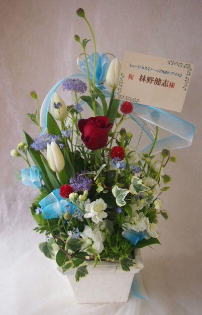 花ギフト|フラワーギフト|誕生日 花|カノシェ話題|スタンド花|ウエディングブーケ|花束|花屋|45542