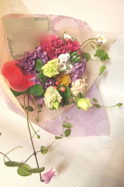 花ギフト|フラワーギフト|誕生日 花|カノシェ話題|スタンド花|ウエディングブーケ|花束|花屋|48826