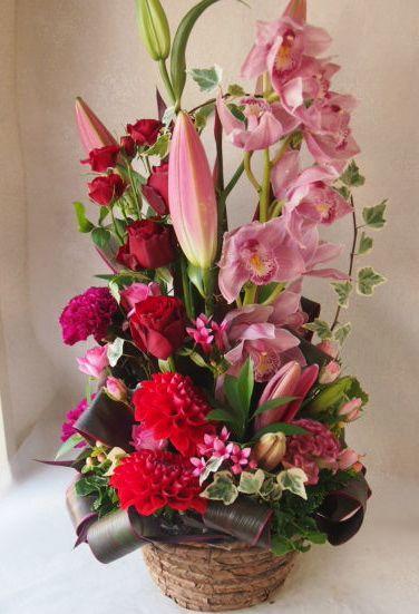 花ギフト|フラワーギフト|誕生日 花|カノシェ話題|スタンド花|ウエディングブーケ|花束|花屋|51401