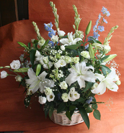 花ギフト|フラワーギフト|誕生日 花|カノシェ話題|スタンド花|ウエディングブーケ|花束|花屋|白