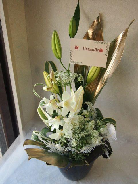 花ギフト|フラワーギフト|誕生日 花|カノシェ話題|スタンド花|ウエディングブーケ|花束|花屋|53784