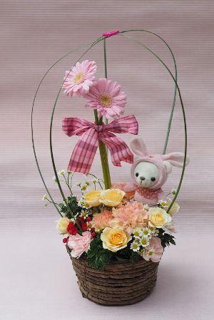 花ギフト|フラワーギフト|誕生日 花|カノシェ話題|スタンド花|ウエディングブーケ|花束|花屋|HB_1-2