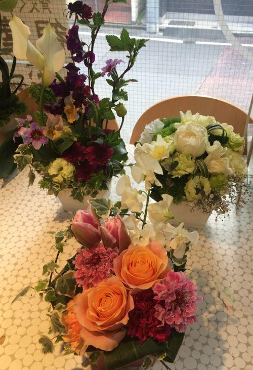 花ギフト|フラワーギフト|誕生日 花|カノシェ話題|スタンド花|ウエディングブーケ|花束|花屋|IMG_9157