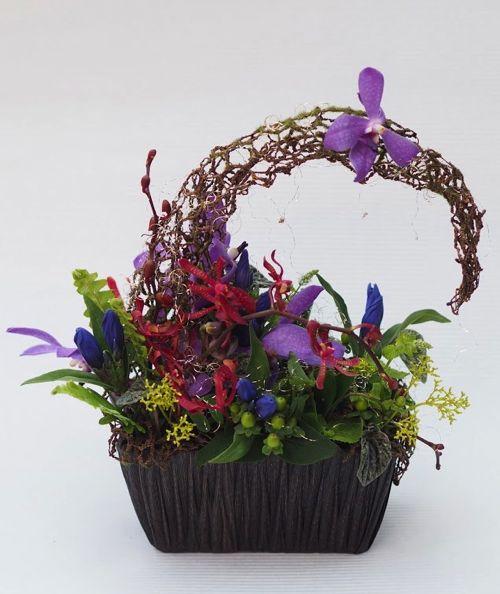 花ギフト|フラワーギフト|誕生日 花|カノシェ話題|スタンド花|ウエディングブーケ|花束|花屋|P8044053