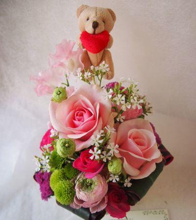 花ギフト|フラワーギフト|誕生日 花|カノシェ話題|スタンド花|ウエディングブーケ|花束|花屋|39036