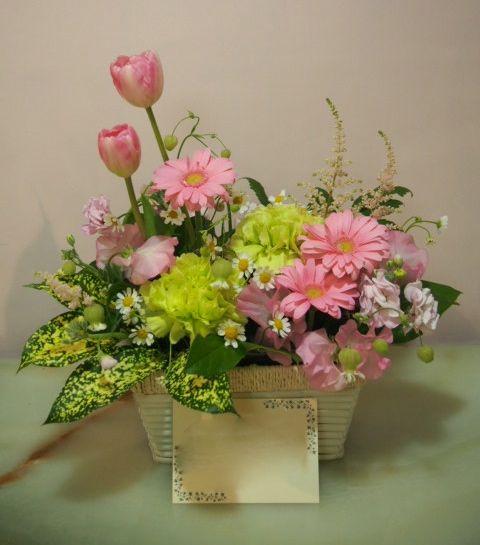 花ギフト|フラワーギフト|誕生日 花|カノシェ話題|スタンド花|ウエディングブーケ|花束|花屋|54506