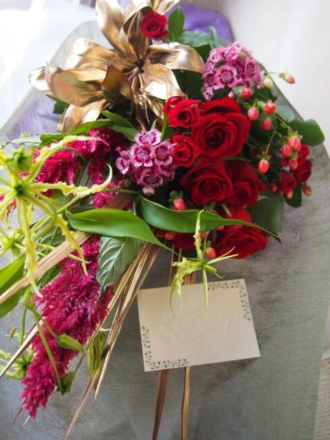 花ギフト|フラワーギフト|誕生日 花|カノシェ話題|スタンド花|ウエディングブーケ|花束|花屋|57733