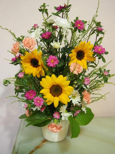 花ギフト|フラワーギフト|誕生日 花|カノシェ話題|スタンド花|ウエディングブーケ|花束|花屋|P8030776