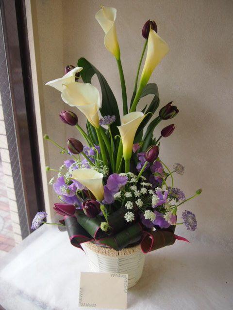 花ギフト|フラワーギフト|誕生日 花|カノシェ話題|スタンド花|ウエディングブーケ|花束|花屋|54011