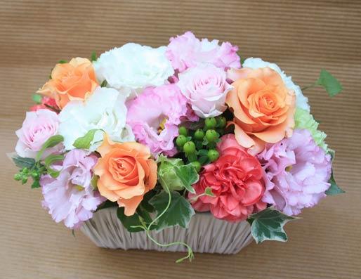 花ギフト|フラワーギフト|誕生日 花|カノシェ話題|スタンド花|ウエディングブーケ|花束|花屋|IMG_4448