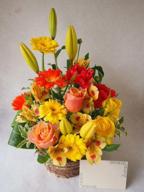 花ギフト|フラワーギフト|誕生日 花|カノシェ話題|スタンド花|ウエディングブーケ|花束|花屋|53438