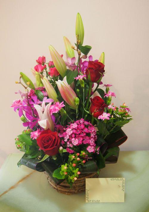 花ギフト|フラワーギフト|誕生日 花|カノシェ話題|スタンド花|ウエディングブーケ|花束|花屋|56016
