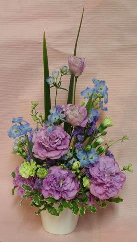 花ギフト フラワーギフト 誕生日 花 カノシェ話題 スタンド花 ウエディングブーケ 花束 花屋 IMG_7509