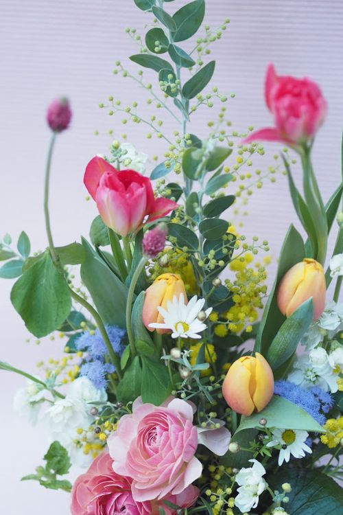 花ギフト|フラワーギフト|誕生日 花|カノシェ話題|スタンド花|ウエディングブーケ|花束|花屋|P1192060