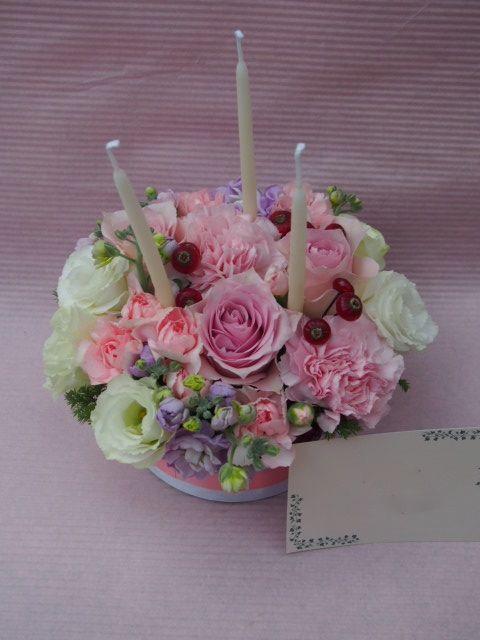 花ギフト|フラワーギフト|誕生日 花|カノシェ話題|スタンド花|ウエディングブーケ|花束|花屋|52062