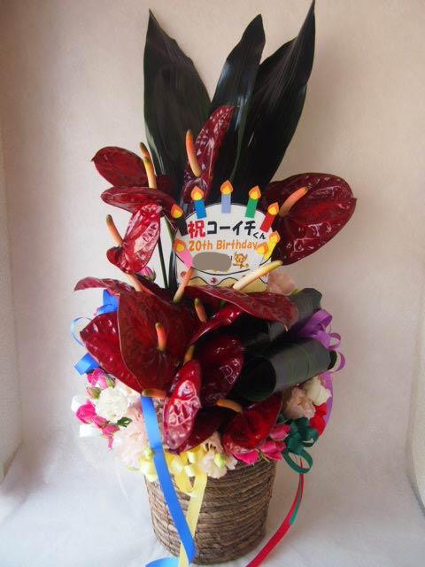 花ギフト|フラワーギフト|誕生日 花|カノシェ話題|スタンド花|ウエディングブーケ|花束|花屋|P6195198