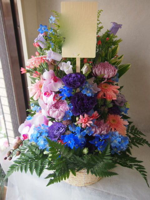 花ギフト|フラワーギフト|誕生日 花|カノシェ話題|スタンド花|ウエディングブーケ|花束|花屋|55646