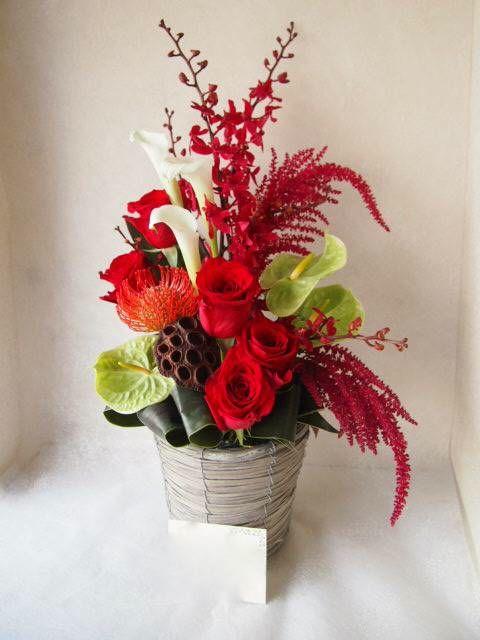 花ギフト|フラワーギフト|誕生日 花|カノシェ話題|スタンド花|ウエディングブーケ|花束|花屋|57998