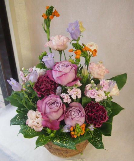 花ギフト|フラワーギフト|誕生日 花|カノシェ話題|スタンド花|ウエディングブーケ|花束|花屋|46886