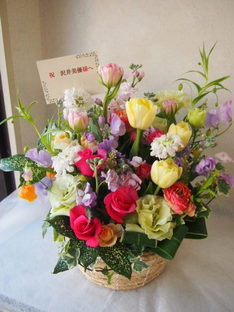 花ギフト|フラワーギフト|誕生日 花|カノシェ話題|スタンド花|ウエディングブーケ|花束|花屋|54354