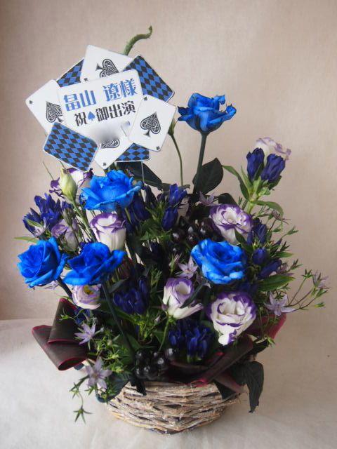 花ギフト フラワーギフト 誕生日 花 カノシェ話題 スタンド花 ウエディングブーケ 花束 花屋 42518